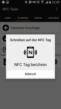 NFC Implantat beschreiben