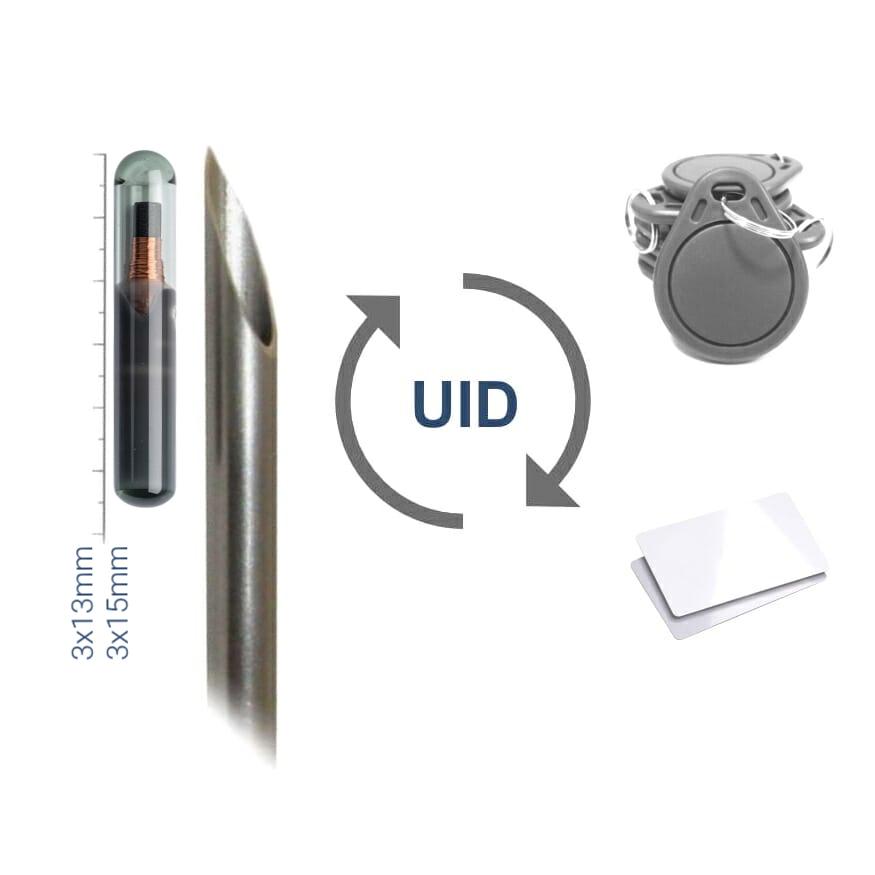 NFC Chip Implant UID